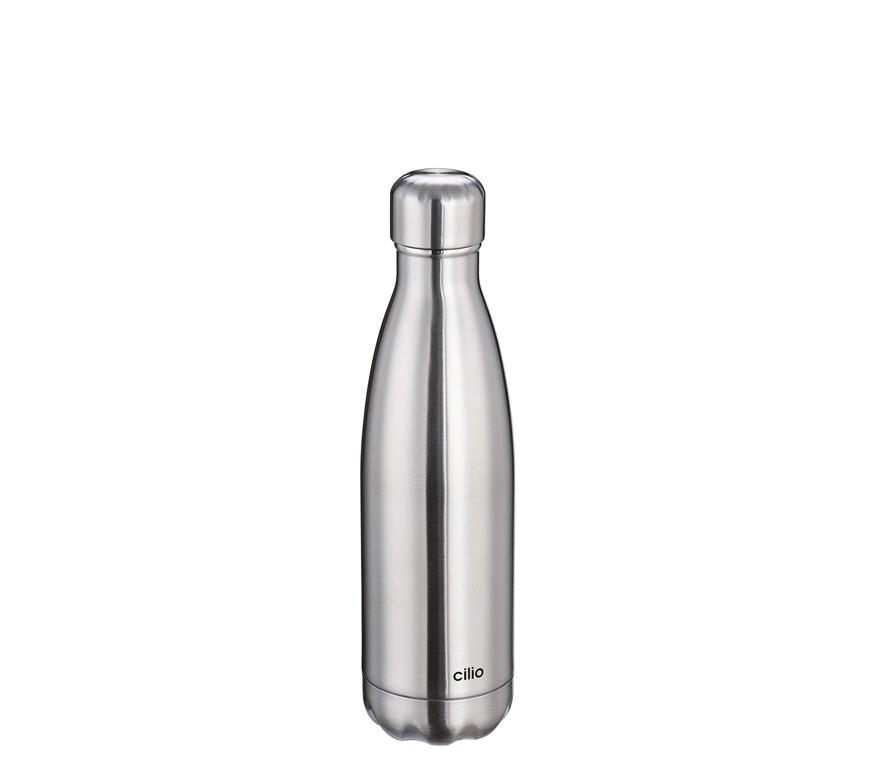 Cilio Isoliertrinkflasche ELEGANTE 0,5L Edelstahl