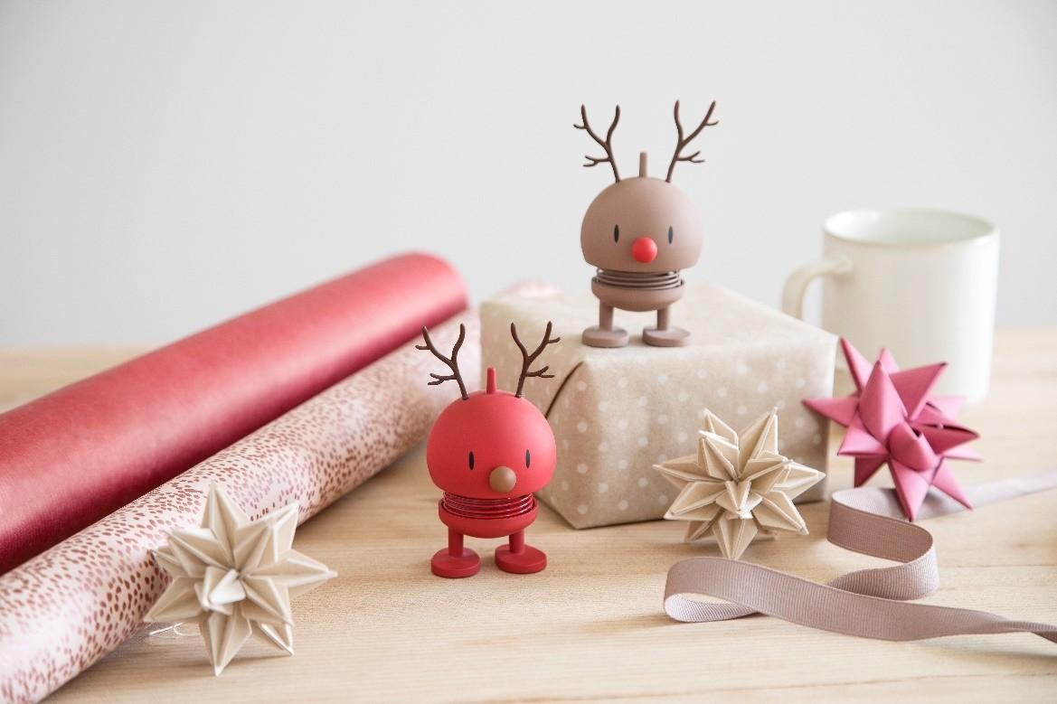 Hoptimist Small Soft Reindeer Bumble Choko