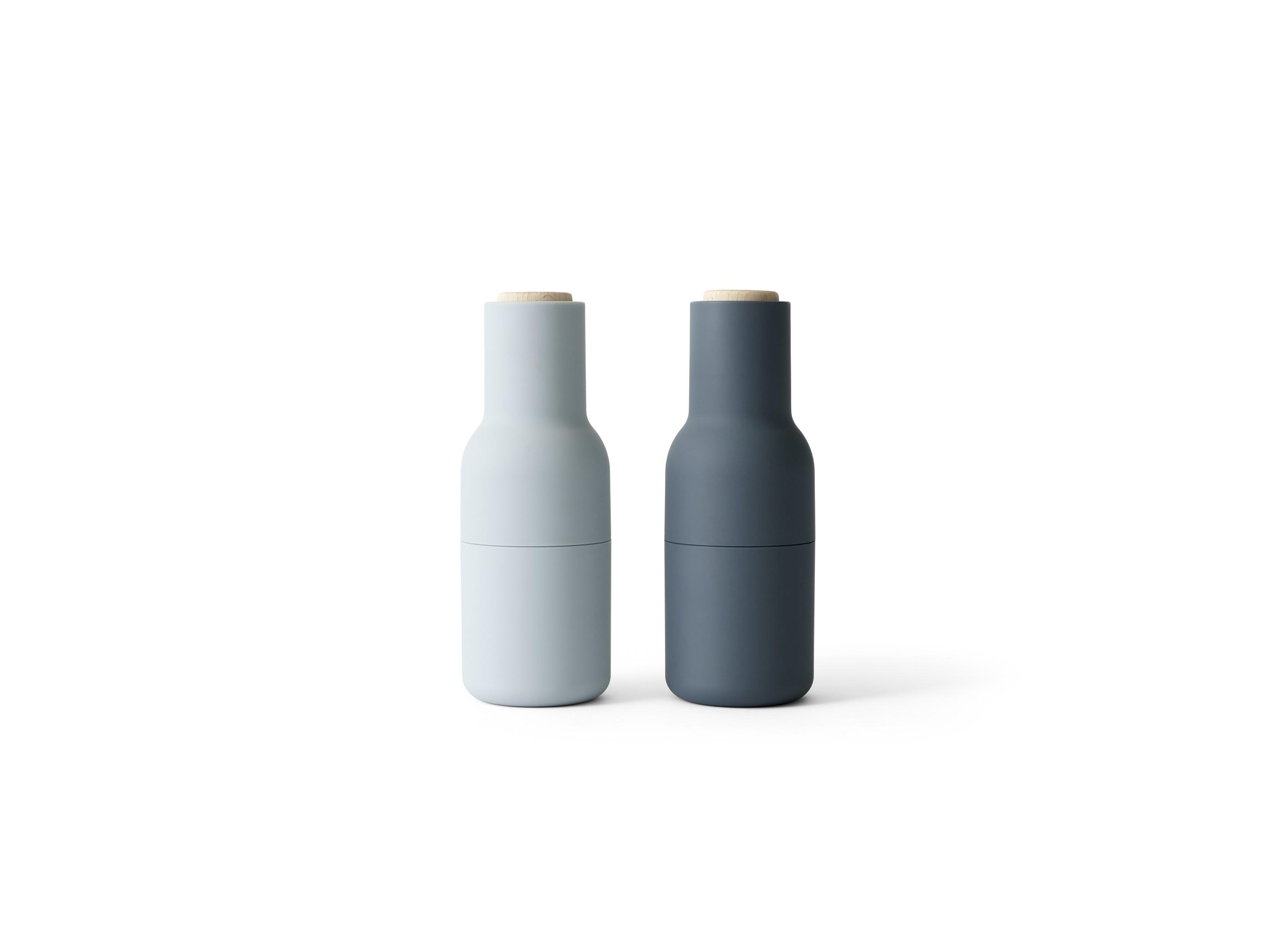 Menu Bottle Grinder Blues Limited 2er SET Salz- und Pfeffermühle