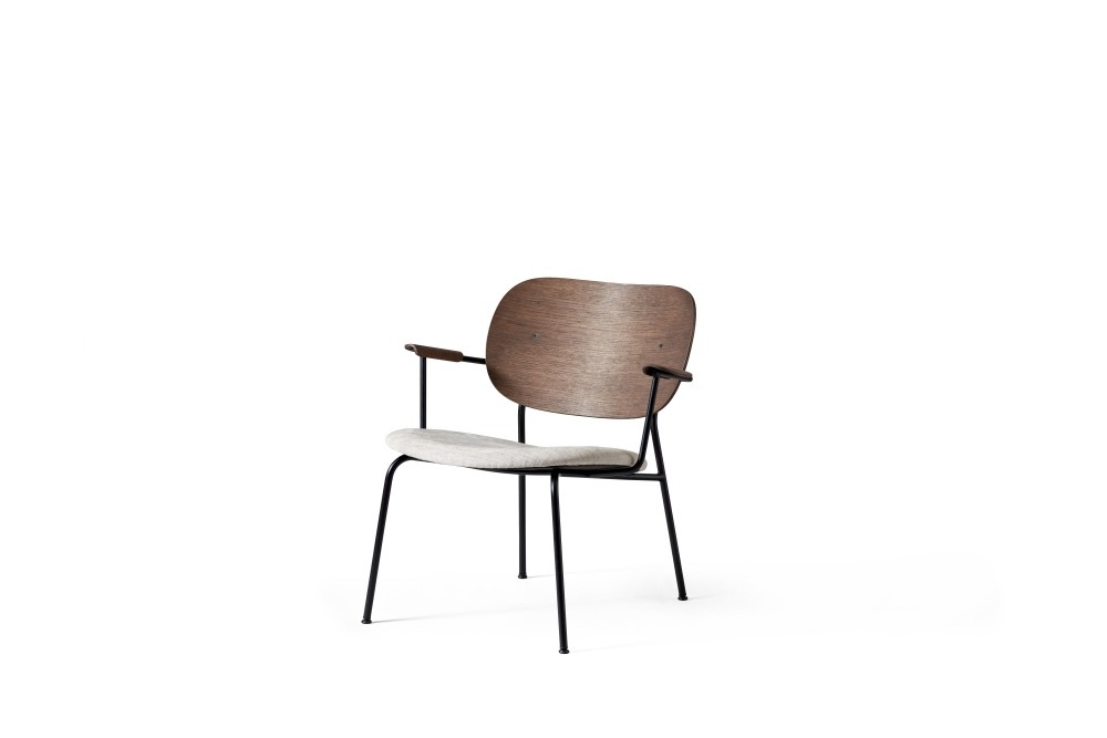 Menu Co Chair LC Black Base Dark Stained Oak Clubsessel