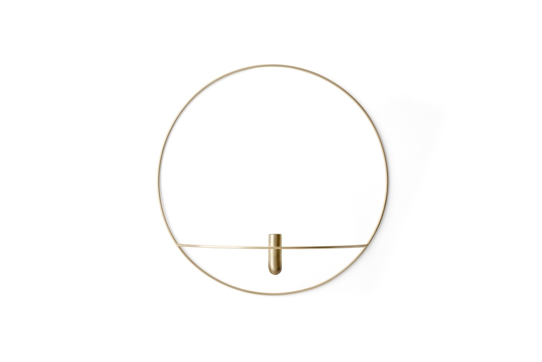 Menu POV Circle Vase L Brass