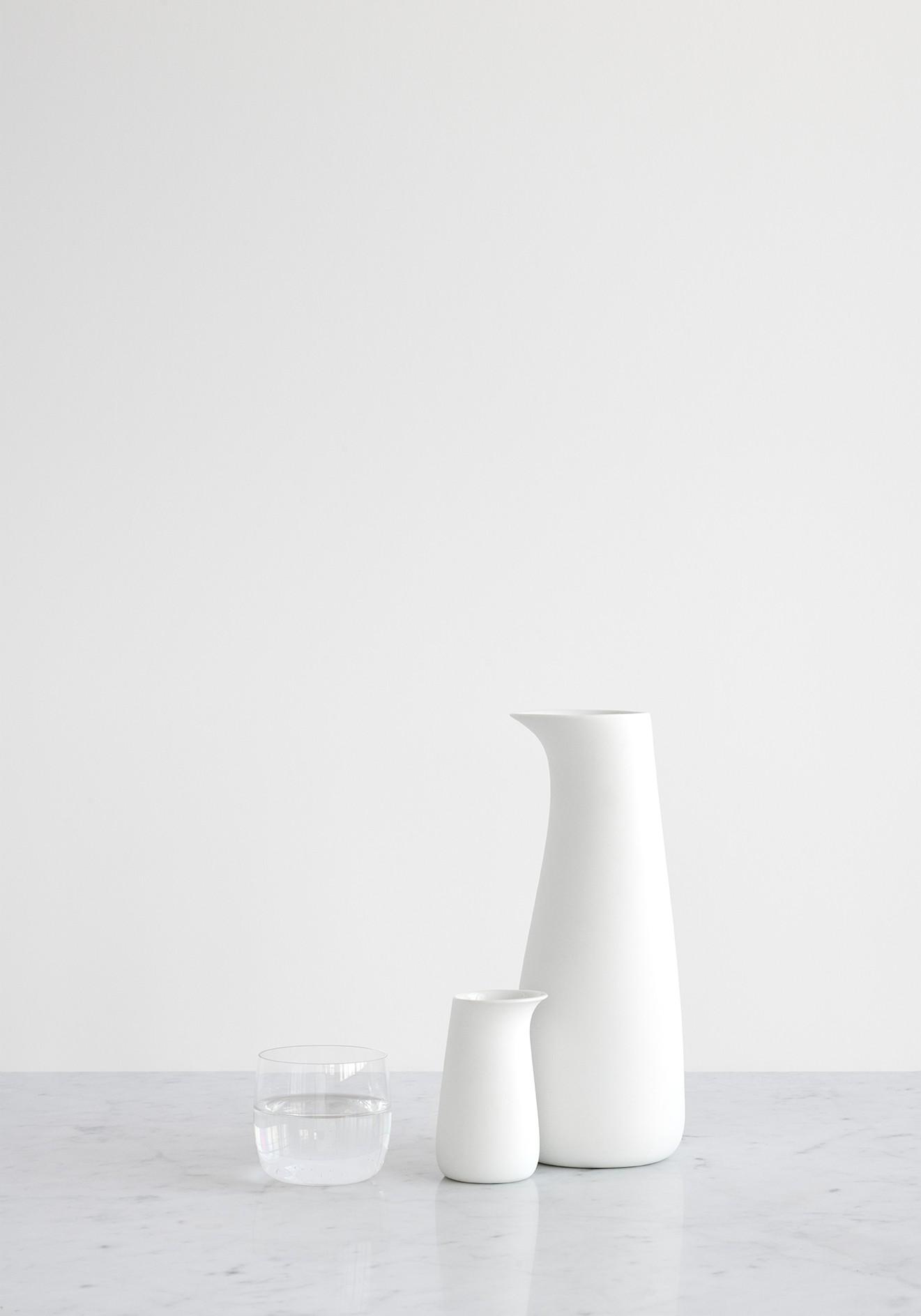 Stelton Foster Karaffe 1,2L Porzellan