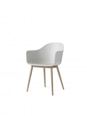 Menu Harbour Chair Sitzstuhl White Shell Wood Base