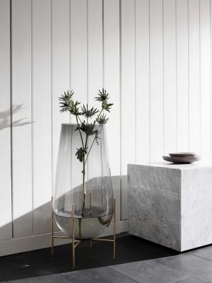 Menu Plinth Low White Marble Sockel