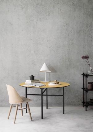 Menu Synnes Chair Natural Oak Grey Brown Stuhl
