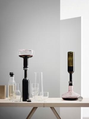 Menu WINE BREATHER DELUXE decanting carafe Weindekantierkaraffe