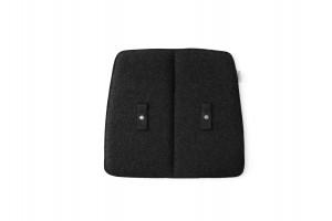 Menu WM String Cushion Indoor Dining Dark Grey Sitzauflage