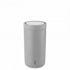 Stelton Isolierbecher To Go Click 0,2L soft light grey
