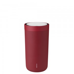 Stelton Isolierbecher To Go Click 0,2L soft warm marroon