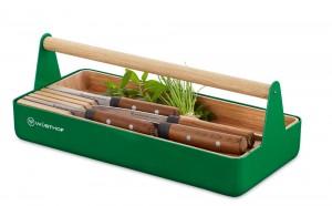 Wüsthof Urban Farmer Tool Basket mit 4 Messern