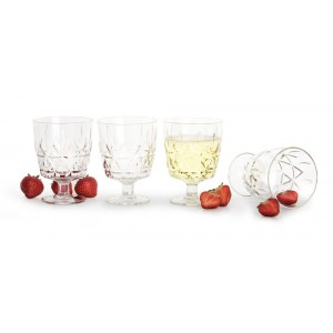 Sagaform Picknick Glas 4er Set