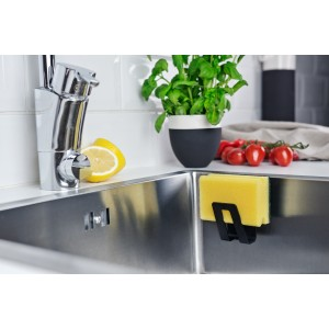 Magisso HAPPY SINKS BIO BLACK Schwammhalter Pure Black Kunststoff
