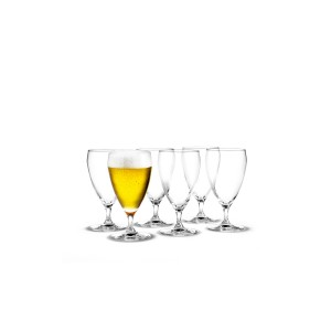 Holmegaard Perfection Bierglas 6er Set 44cl