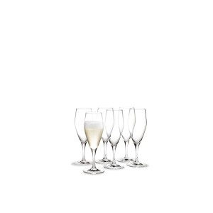 Holmegaard Perfection Champagnerglas 6er Set 23cl