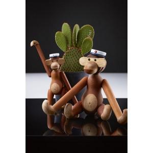 Kay Bojesen Mütze für den mittlere Affen blau