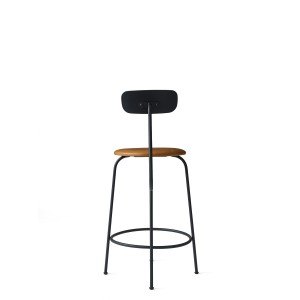Menu Afteroom Counter Chair Black Cognac Barstuhl