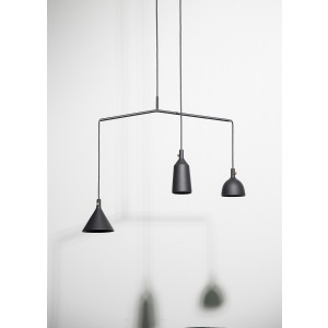 Menu Cast Pendant Shape 1 Black Pendelleuchte