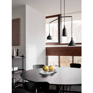 Menu Cast Pendant Shape 4 Black Pendelleuchte