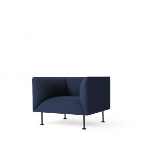 Menu GODOT 1 Seater Royal Blue Sessel