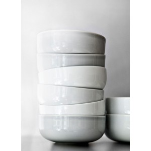 Menu NEW NORM Bowl White Ø25cm Schale