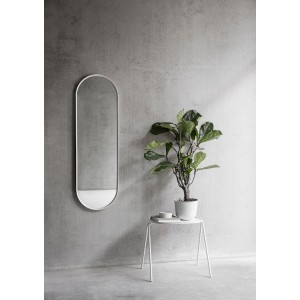 Menu NORM Wall Mirror Oval White Spiegel