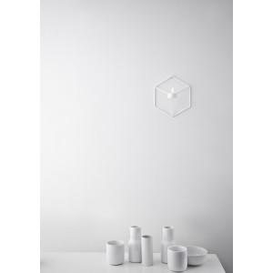 Menu POV candleholder Wall White Wandkerzenhalter