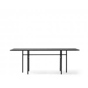 Menu Snaregade Dining Table Rectangular Black Esszimmertisch