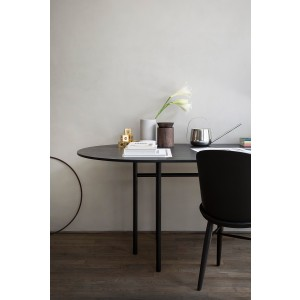 Menu Snaregade Dining Table Round Ø120cm Black Esszimmertisch