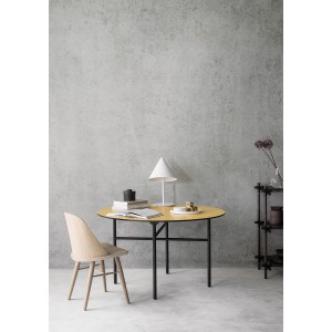 Menu Synnes Chair Natural Oak Grey Brown Stuhl