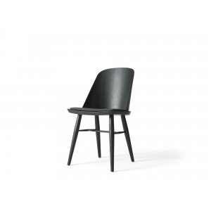 Menu Synnes Dining Chair Black Ash Black Melange Stuhl