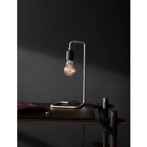 Menu TRIBECA Reade Table Lamp Brushed Steel Tischleuchte