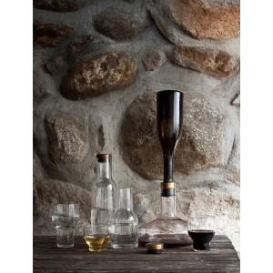Menu WINE BREATHER DELUXE Gold decanting carafe Weindekantierkaraffe