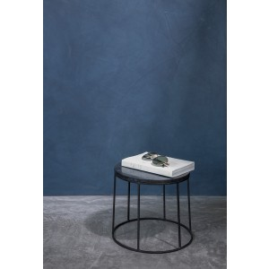 Menu WIRE Table Top Marble Black Marmorplatte für WIRE Base Ständer
