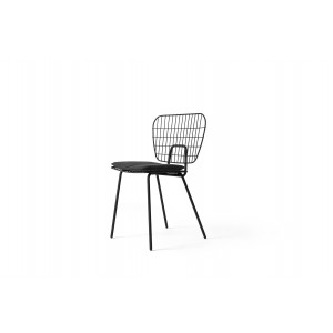 Menu WM String Dining Chair Black Stuhl