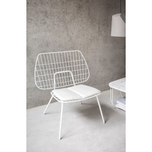 Menu WM String Lounge Chair White Sessel