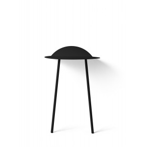 Menu Yeh Wall Table Tall Black Wandtisch
