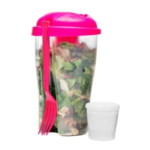 Sagaform Fresh Salat-To-Go pink