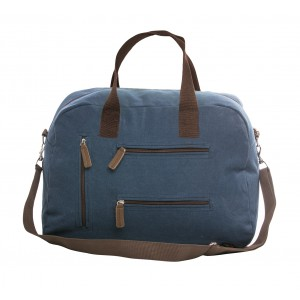 Sagaform Travel Schultertasche canvas blau