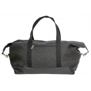 Sagaform Travel Weekender canvas schwarz