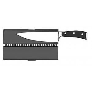 Wüsthof Klingenschützer mit Magnet bis 26cm und 5,5cm breite