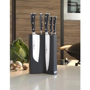 Wüsthof Messerständer mit Magneten Buchenholz schwarz