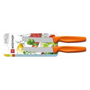 Wüsthof SHARP FRESH & COLOURFUL Universalmesser Set 2-tlg orange