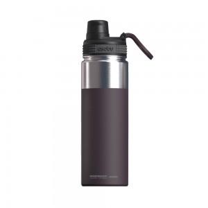 ASOBU ALPINE FLASK Isoliertrinkflasche NEW VERSION TMF6 BURGUNDY