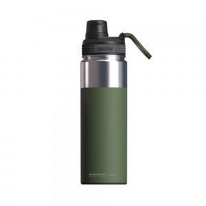 ASOBU ALPINE FLASK Isoliertrinkflasche NEW VERSION TMF6 GREEN