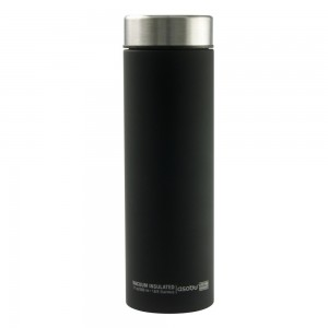 "ASOBU ""LE BATON"" TRAVEL BOTTLE Isoliertrinkflasche LB17 SILVER"