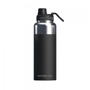 ASOBU MIGHTY FLASK Isoliertrinkflasche NEW VERSION TMF5 BLACK