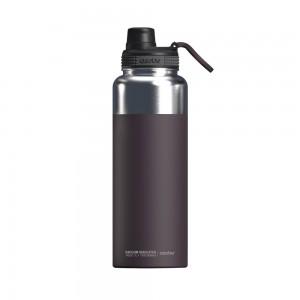 ASOBU MIGHTY FLASK Isoliertrinkflasche NEW VERSION TMF5 BURGUNDY