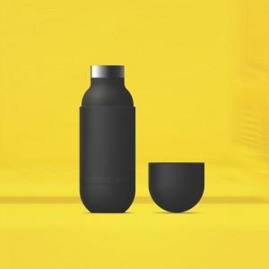 ASOBU ORB Isoliertrinkflasche SBV30 BLACK