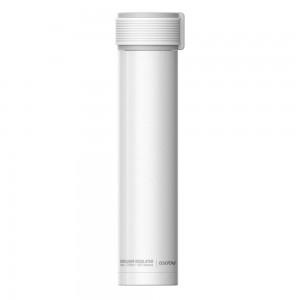 ASOBU SKINNY MINI Isoliertrinkflasche SBV20 WHITE