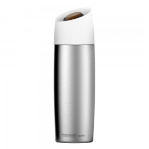 ASOBU THE 5TH AVENUE COFFEE TUMBLER Isolierbecher V800 SILVER